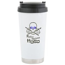 Robot Skeleton Hobo Travel Mug
