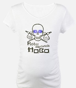 Robot Skeleton Hobo Shirt