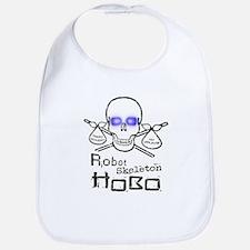 Robot Skeleton Hobo Bib