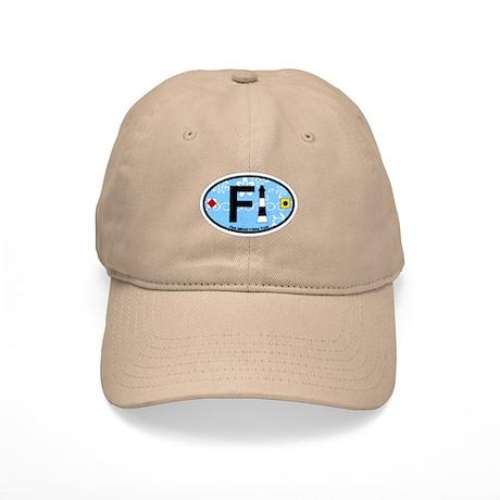 Fire Island - Oval Design Cap