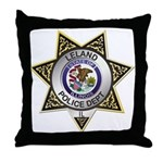 Leland Police Throw Pillow