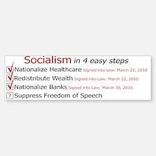 Socialism Bumper Bumper Sticker Bumper Bumper Sticker