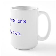 I Reject Your Ingredients Mug
