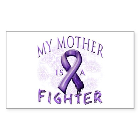 My Mother Is A Fighter Sticker (Rectangle)