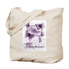 Lupus ~ Praying for a Cure Tote Bag
