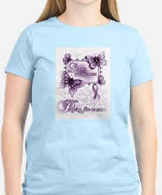 Lupus ~ Praying for a Cure T-Shirt