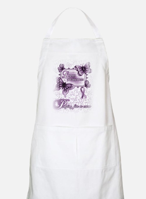Lupus ~ Praying for a Cure Apron