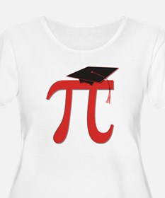 Red Pi Grad T-Shirt