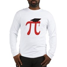 Red Pi Grad Long Sleeve T-Shirt