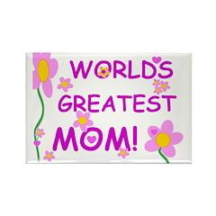 World's Greatest Mom Rectangle Magnet (10 pack)