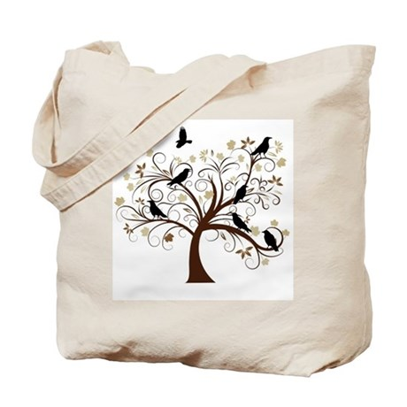 The Raven's Tree Tote Bag