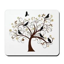 The Raven's Tree Mousepad