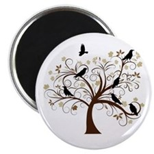 The Raven's Tree Magnet