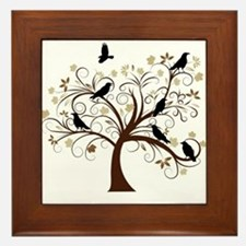 The Raven's Tree Framed Tile