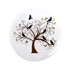 "The Raven's Tree 3.5"" Button"