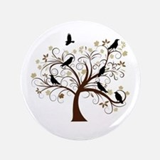 """The Raven's Tree 3.5"""" Button"""