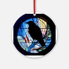 Raven Prism Ornament (Round)