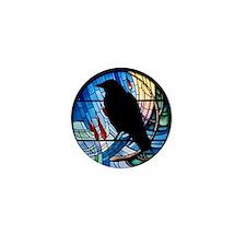 Raven Prism Mini Button
