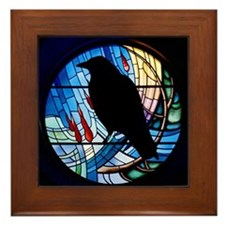 Raven Prism Framed Tile