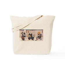 Samurai Warriors Tote Bag