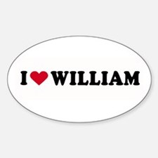 I LOVE BOYS ~ Oval Decal