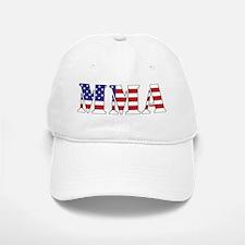 MMA USA Baseball Baseball Cap
