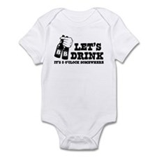 It's 5 O'clock Somewhere Infant Bodysuit
