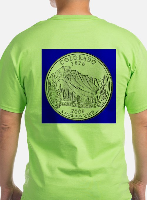 Colorado State Quarter Gear T-Shirt