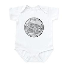 Colorado State Quarter Gear Infant Creeper