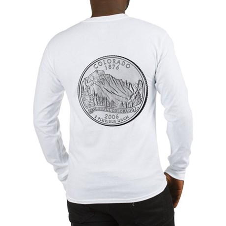 Colorado State Quarter Gear Long Sleeve T-Shirt