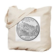 Colorado State Quarter Gear Tote Bag