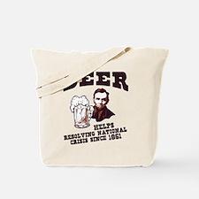 Helps Resolve Crisis Tote Bag