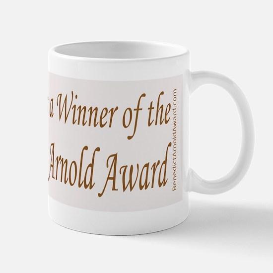 Benedict Arnold Award - Mug