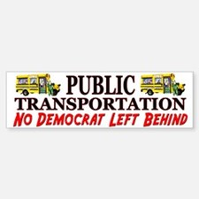 """DNC Short Bus"" Bumper Bumper Bumper Sticker"