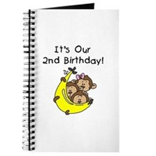 Triplets 2nd Birthday Journal