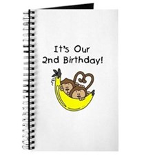 Twin Boys 2nd Birthday Journal