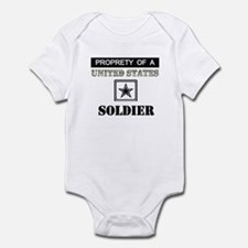 Property of a US Soldier Infant Bodysuit