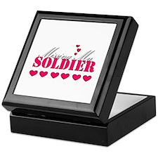 Missing my soldier Keepsake Box