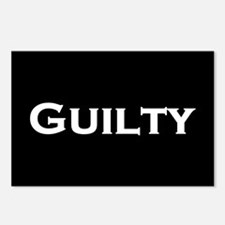 Guilty Postcards (Package of 8)