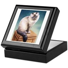 Ragdoll Cat Keepsake Box
