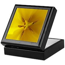 Yellow Tulip Keepsake Box