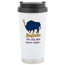 """Wake up Buffalo!"" Travel Mug"
