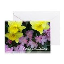 Daffodils Congratulations Card 5x7