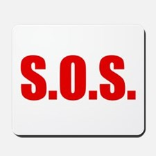 SOS Mousepad