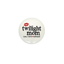 Twilight Mom Mini Button (10 pack)