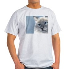 Ragdoll Cats 2 Ash Grey T-Shirt