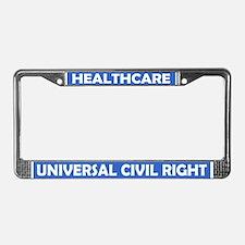 Cute Medicare License Plate Frame