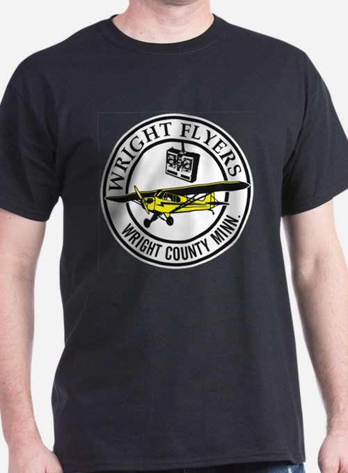 Wright Flyers R/C Club Black T-Shirt