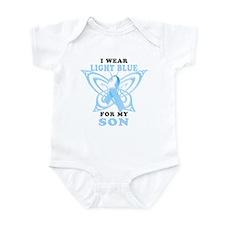 I Wear Light Blue for my Son Infant Bodysuit