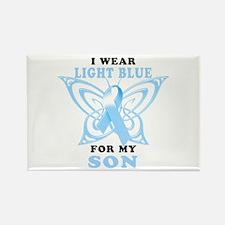 I Wear Light Blue for my Son Rectangle Magnet